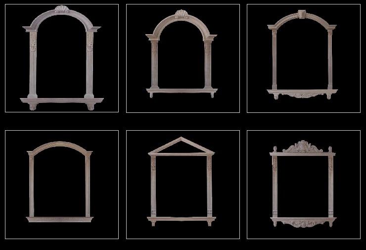窗套- 广西欧式构件 - 美泥涂料